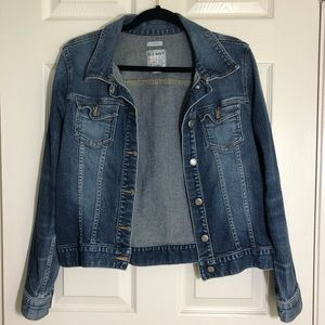Women's Old Navy Stretch Jean Jacket Sz L